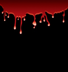 black blood vector image vector image