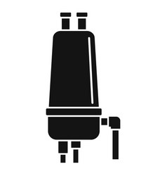 Irrigation filter icon simple style vector