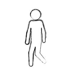 male pictogram symbol vector image