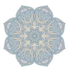 Mandala Oriental decorative element Islam Arabic vector