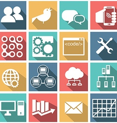 Miscellaneous business icons vector