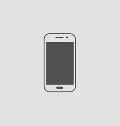 mobie phone icon graphic design vector image