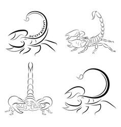 Scorpions vector