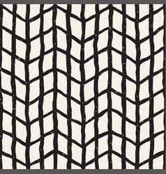 Seamless pattern hand drawn brush strokes ink vector