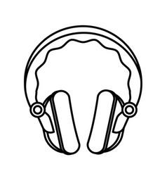 headphone icon image vector image vector image