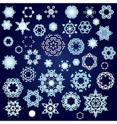 snowflake factory vector image vector image