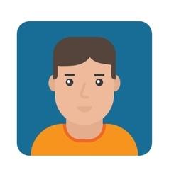 Profile Icon Male Portrait vector image vector image