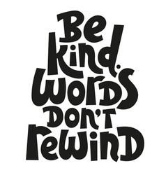 Anti bullying lettering vector