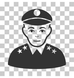 Army General Icon vector