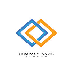 corporate logo template vector image