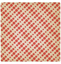 Dotted retro background vector