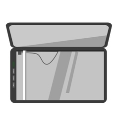 Icon of scanner machine vector