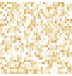Seamless background with shiny pixels vector image