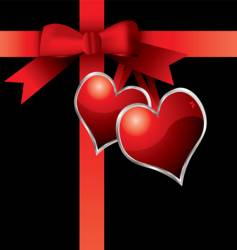 valentine present vector image