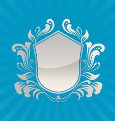 Shield Ornament vector image vector image