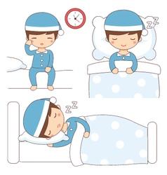 bedtime vector image vector image