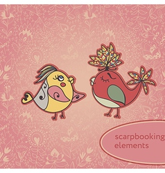 texture flowers for scarpbooking vector image
