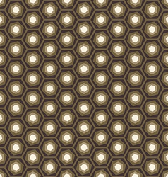 Abstract geometric hexagon seamless pattern vector