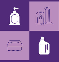 House cleaning design vector