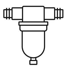 Irrigation tool icon outline style vector