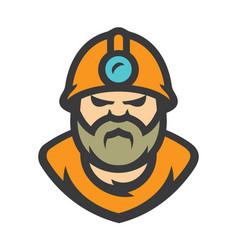 Miner cartoon vector