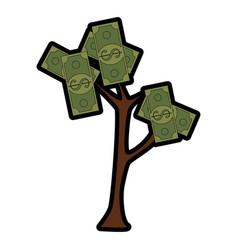 Money plant icon vector