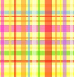 Seamless plaid pattern-yellow vector