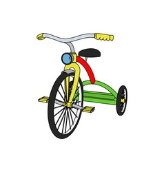 Tricycle-380x400 vector image