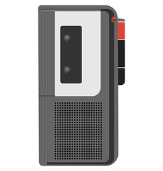 Voice recorder vector image