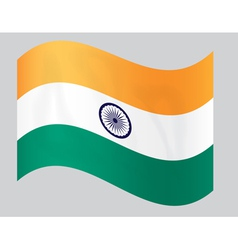 indiaflag4 vector image