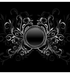 ornamental medallion vector image vector image