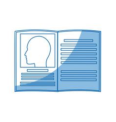 Book medicine science information knowledge vector