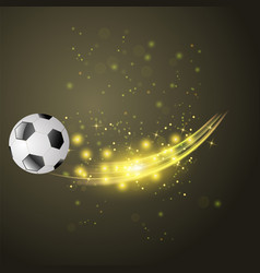 sport football icon vector image vector image