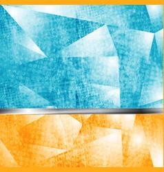 Abstract grunge tech backdrop vector