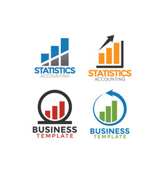 Business consulting logo icon graphic design vector