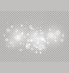 christmas lights lamp vector image