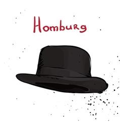 Classic hat vector