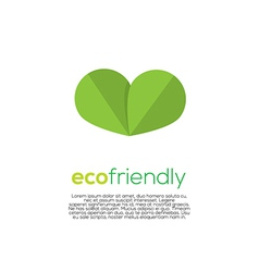 Eco-Friendly Concept vector image