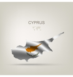 Flag of Cyprus as a country vector image