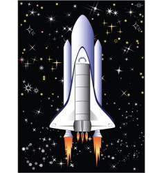 flight in space vector image vector image