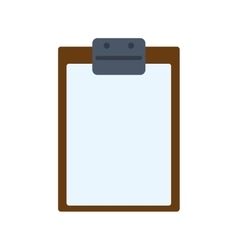 Paper document check list table icon vector