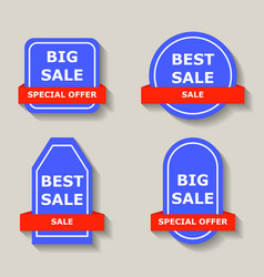 sale label price shopping discount offer tag vector image