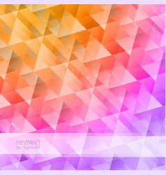 grid mosaic abstract background vector image vector image