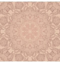 Pastel Lace Ornament vector image