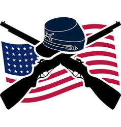 American Civil War Union vector image
