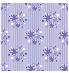 seamless violet pattern vector image vector image