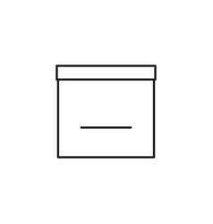 empty calendar icon vector image