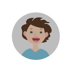 surprised emoji shocked emoticon amazed smiley vector image