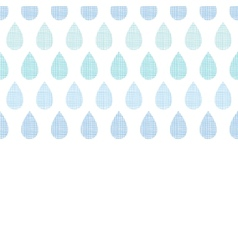 Abstract textile blue rain drops stripes vector image