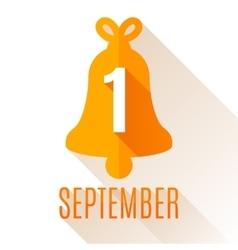 First September Background vector image